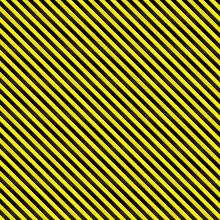 hazard sign: A tightly woven yellow and black stripes texture that works as a seamless pattern in any direction.  Great for both print and web designs.  Stock Photo