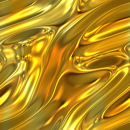 liquid metal: Una tessitura fuso d'oro liquido che le piastrelle senza soluzione di continuit�. Archivio Fotografico