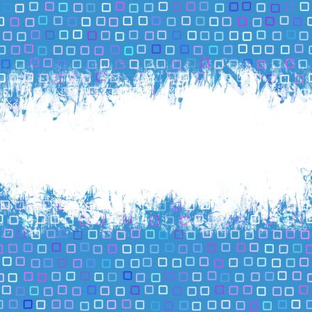 Grunge page layout over a funky squares pattern. Stock Photo - 5155930