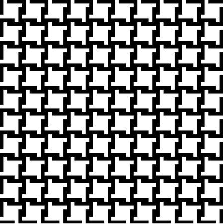 パターンとしてタイルをシームレスに流行の千鳥格子パターン。