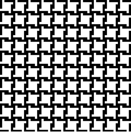 Trendy houndstooth pattern that tiles seamlessly as a pattern.  Illusztráció