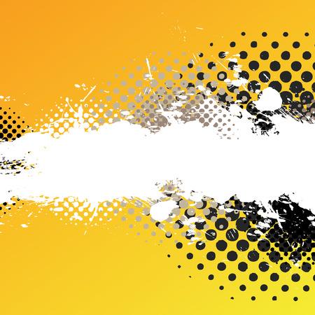 Une peinture abstraite splatter texture de fond de la copie avec beaucoup d'espace. Banque d'images - 5181113