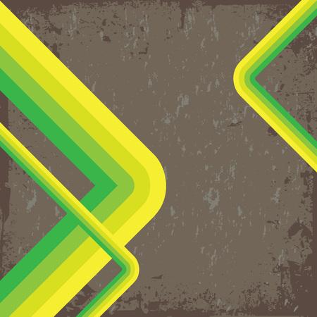 nicked: De estilo retro con un dise�o vectorial grungy desgastado textura.