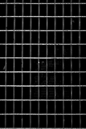 A metal subway grate texture that is worn and weathered. Stock Photo - 5271687