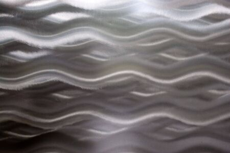 A highly unique brushed aluminum texture that works great for a metallic background. Stock Photo - 5271692