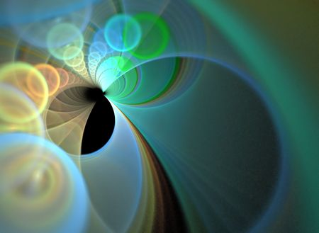 A funky fractal design that works great as a background or backdrop. Stock Photo