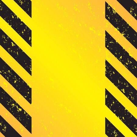 ce: Un crasseux et us� bandes danger texture. Cette image vectorielle est enti�rement �ditables. Illustration