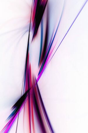 spiraling: A glowing fractal design with plasma swooshes that works great as a background or layout Stock Photo
