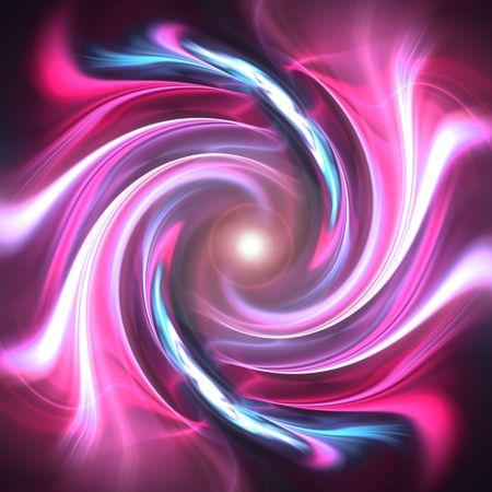나선: A spiraling fractal design that works great as a background or backdrop.