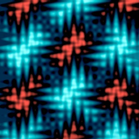 A funky texture with wavy abstract blurred shapes.