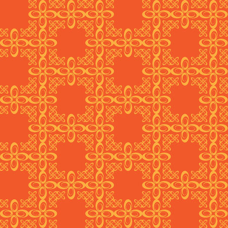 A vintage wallpaper pattern that tiles seamlessly as a pattern.  This vector image is fully editable.