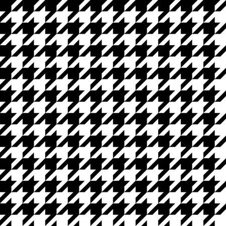 seamlessly: Pattern pied de poule Trendy che le piastrelle senza soluzione di continuit�, come un modello. Vettoriali
