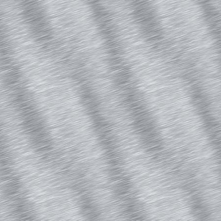 Brushed aluminum material that tiles seamlessly.  This texture makes an excellent background for any graphic design project. Stock Photo - 5606515
