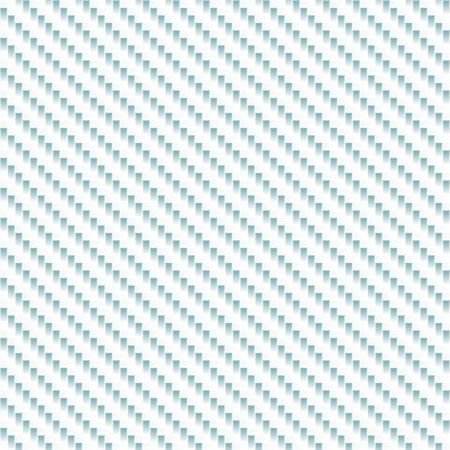 A realistic carbon fiber material in white that tiles seamlessly in a pattern.  A very modern seamless texture for both print and web designs.
