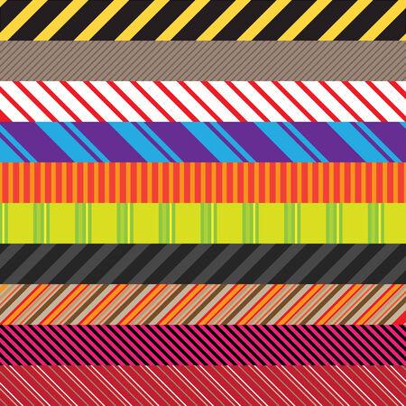 them: Modelli Stripes in un assortimento di colori e stili. Facilmente utilizzare queste per creare sfondi senza soluzione di continuit� o utilizzarli in altri elementi.