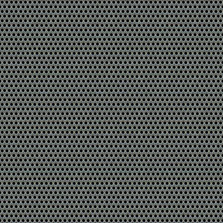 쇠 격자: A 3d illustration of a steel grate material. This image tiles seamlessly as a pattern. 스톡 사진