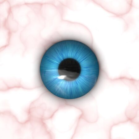 spooky eyes: A texture of a blue eye with lots of detail.