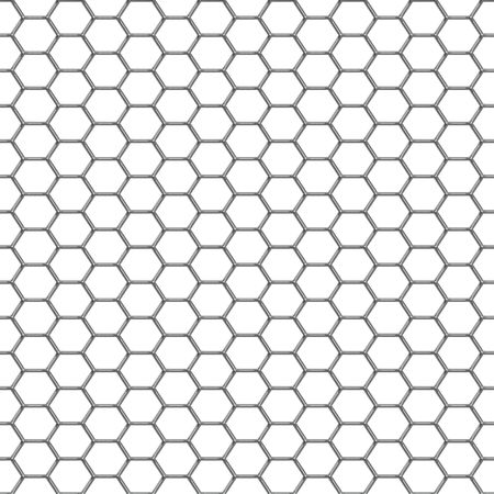wire mesh: A shiny chrome grill background that tiles seamlessly as a pattern.