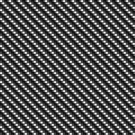 carbon fibre: A realistic carbon fiber texture that tiles seamlessly in a pattern.  A very modern seamless texture for both print and web designs. Stock Photo
