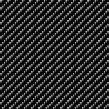 fibra de carbono: Un realista textura de fibra de carbono que las baldosas a la perfecci�n en un patr�n. Una textura fluida muy moderna para la impresi�n y dise�o web.