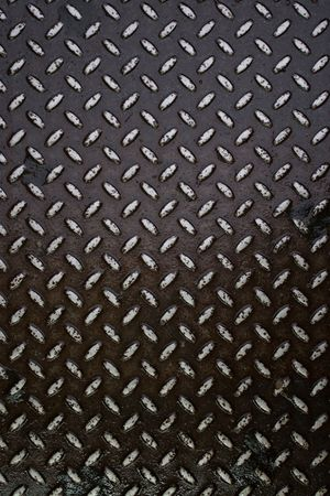 Closeup of real diamond plate material - this is a photo not an illustration. Stock Illustration - 5827809