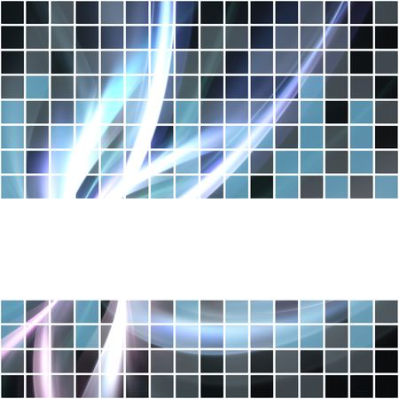 A seamless banner or border that tiles as a pattern in any direction. Stock Photo - 6001427