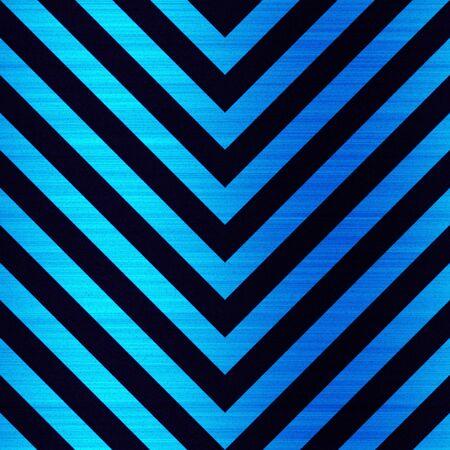 hazard stripes: Blue hazard stripes pattern that is pointing in a downward direction.