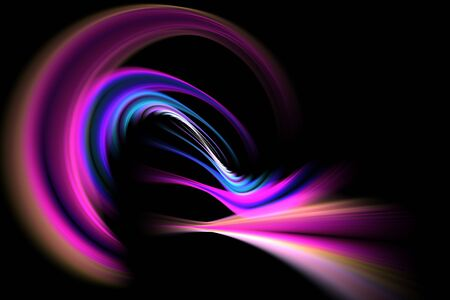 spiraling: A glowing fractal vortex that works great as a background or backdrop.