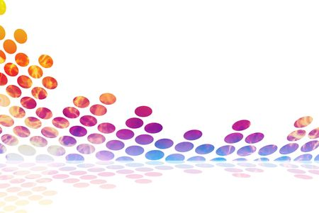 A graphic audio waveform illustration with a fiery burning texture. Stock Photo