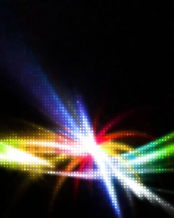 A glowing rainbow colored illustration that works great as a background or backdrop. illustration