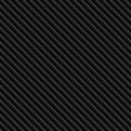 A realistic carbon fiber background that tiles seamlessly as a pattern in any direction,. Stock Photo