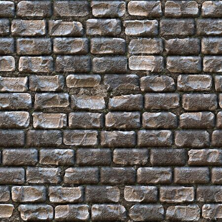 gravel roads: Seamless cobblestone  that works great for a a wall or stone