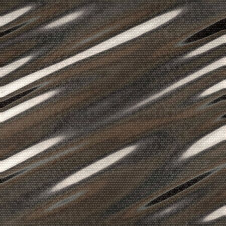 A closeup of a carbon fiber material with highlights.  This makes an excellent texture or background.  Stock Photo