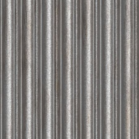 A corrugated metal texture that tiles seamlessly as a pattern.  Makes a great background or backdrop when tiled. photo