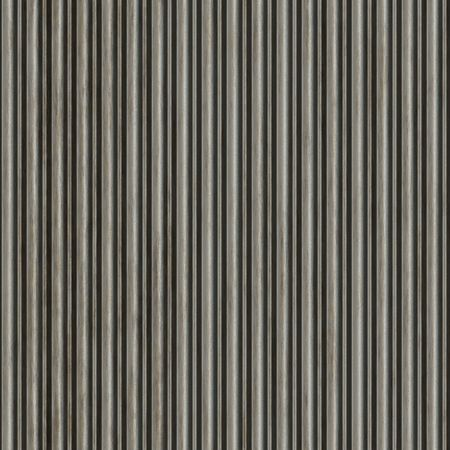 A corrugated metal texture that tiles seamlessly as a pattern.  Makes a great background or backdrop when tiled. Stock Photo - 6812192