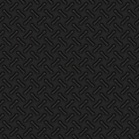 A dark black diamond plate zig zag pattern that tiles seamlessly in any direction. photo