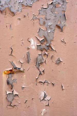 chipped paint: Chipped paint texture with rust forming and coming through the metal.