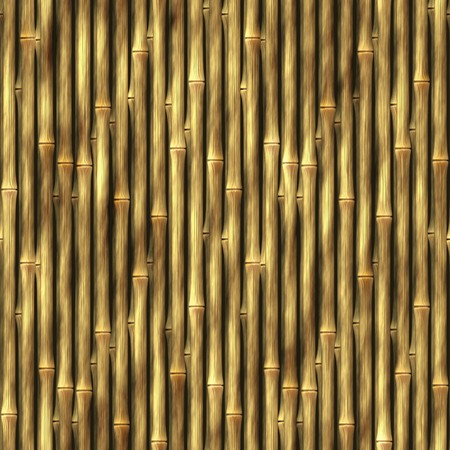 Bamboo poles background texture that tiles seamlessly as a pattern. photo