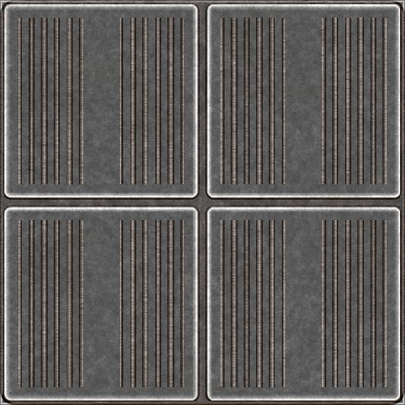 grooves: Seamless worn metal plates with grooves that tile seamlessly as a pattern in any direction.