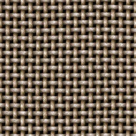 A knitted cloth or burlap texture that tiles seamlessly as a pattern. Stok Fotoğraf