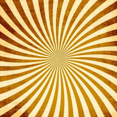 A retro or vintage looking rays pattern that works great as a background or backdrop. Stock Photo - 7795096