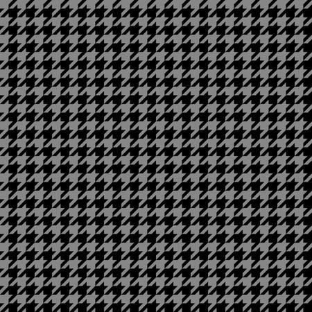Super detailed houndstooth texture that tiles seamlessly as a pattern.  Stock Photo - 7794921