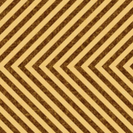 Brown grungy hazard stripes texture that tiles seamlessly as a pattern in any direction. Stock Photo - 7795264