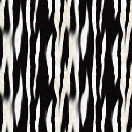 Zebra stripe pattern that tiles seamlessly as a pattern in any direction. Stock Photo