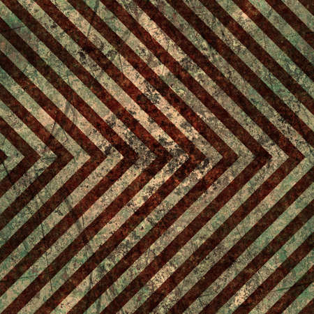 Brown grungy hazard stripes texture that tiles seamlessly as a pattern in any direction. Stock Photo - 8204620