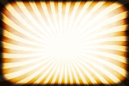 A retro or vintage looking rays pattern that works great as a background or backdrop. Stock Photo - 8204628
