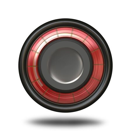 modern: A modern looking 3D button or icon isolated over white.  Great for use in web design or in custom application..