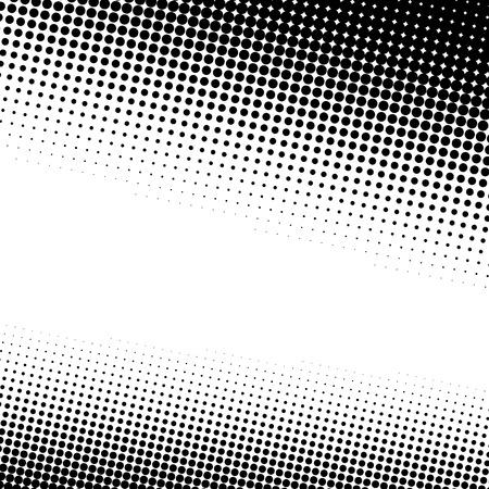 コピー スペースをたっぷりと黒と白のハーフトーンの背景