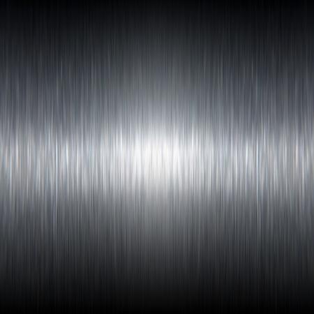 Natuurlijke op zoek donker geborsteld aluminium textuur dat werkt heel goed als achtergrond. Stockfoto