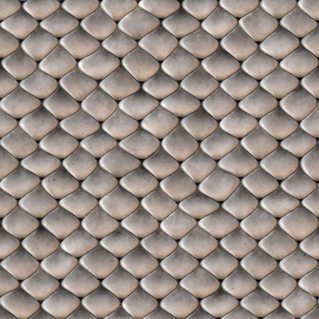 Une texture serpent peau écailleuse que les carreaux de façon transparente comme un modèle dans n'importe quelle direction. Banque d'images
